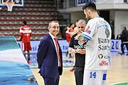 DESCRIZIONE : Campionato 2014/15 Dinamo Banco di Sardegna Sassari - Openjobmetis Varese<br /> GIOCATORE : Ugo Ducarello Brian Sacchetti<br /> CATEGORIA : Fair Play Before Pregame Ritratto<br /> SQUADRA : Dinamo Banco di Sardegna Sassari<br /> EVENTO : LegaBasket Serie A Beko 2014/2015<br /> GARA : Dinamo Banco di Sardegna Sassari - Openjobmetis Varese<br /> DATA : 19/04/2015<br /> SPORT : Pallacanestro <br /> AUTORE : Agenzia Ciamillo-Castoria/L.Canu<br /> Predefinita :