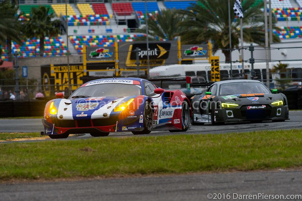 #72 SMP Racing Ferrari 488 GTE: Viktor Shaitar, Andrea Bertolini, James, Gianmaria Bruni