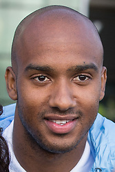 © Licensed to London News Pictures . 17/07/2015 . Manchester , UK . FABIAN DELPH at the Etihad Stadium after signing for Manchester City Football Club , from Aston Villa . Photo credit : Joel Goodman/LNP