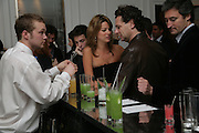 Bar, Garrard Colour And Cocktail Party, Garrard, 24 Albemarle Street, London. 10 May 2007. -DO NOT ARCHIVE-© Copyright Photograph by Dafydd Jones. 248 Clapham Rd. London SW9 0PZ. Tel 0207 820 0771. www.dafjones.com.