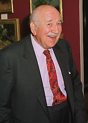 BARON ELIE DE ROTHSCHILD at a reception in London on 10th June 1998.<br /> MIE 64