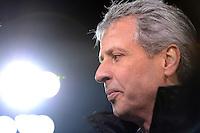 FUSSBALL   1. BUNDESLIGA  SAISON 2012/2013   13. Spieltag FC Augsburg - Borussia Moenchengladbach           25.11.2012 Trainer Lucien Favre (Borussia Moenchengladbach)
