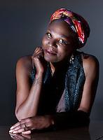 Edinburgh UK. 03 August. Ruth Rogers-Wright bring Nina Simone Black Diva Power performance in Edinburgh during The Edinburgh Fringe Festival in New Town Theatre. Pictured Ruth Rogers-Wright. Pic Pako Mera