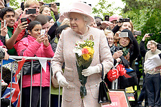 MAY 23 2013 The Queen & The Duke of Edinburgh Arrives at the Rosie Maternity Hospital