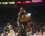 "Mississippi Valley State's Orlando Smith (22) grabs a rebound at C.M. ""Tad"" Smith Coliseum in Oxford, Miss. on Monday, December 13, 2010."