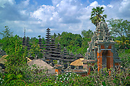 Bali Indonesia, October 2006.  The hindu temple of Taman Ayun. The island of bali is mostly known for its tropical beaches but is also rich with hindu culture, colorful friendly people,  and beautiful landscapes. Photo by Frits Meyst/Adventure4ever.com