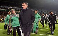 Photo: Paul Thomas.<br /> Werder Bremen v Chelsea. UEFA Champions League, Group A. 22/11/2006.<br /> <br /> Jose Mourinho, dejected Chelsea manager.