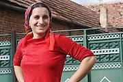Romania, Transylvania, local peasant woman