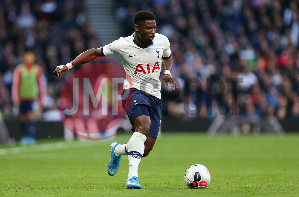 Serge Aurier of Tottenham Hotspur on the ball - Mandatory by-line: Arron Gent/JMP - 19/10/2019 - FOOTBALL - Tottenham Hotspur Stadium - London, England - Tottenham Hotspur v Watford - Premier League