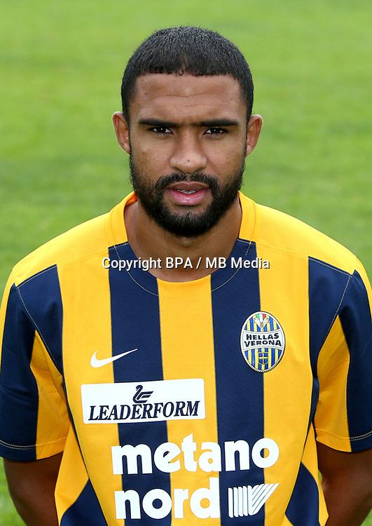 Italian League Serie A -2015-2016 / <br /> ( Hellas Verona FC ) - <br /> Samuel Souprayen