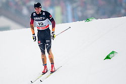 Jonas Dobler of Germany during mens 10km Classic individual start of the Tour de Ski 2014 of the FIS cross country World cup on January 4th, 2014 in Cross Country Centre Lago di Tesero, Val di Fiemme, Italy. (Photo by Urban Urbanc / Sportida)
