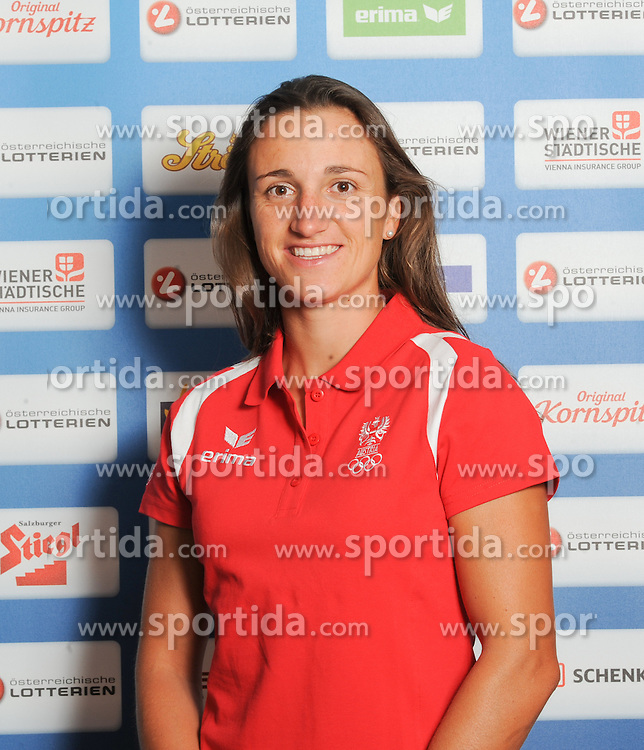 17.07.2016, Hotel Mariott, Wien, AUT, Olympia, Rio 2016, Einkleidung OeOC, im Bild Ogar Jolanta ( Segeln) // during the outfitting of the Austrian National Olympic Committee for Rio 2016 at the Hotel Mariott in Wien, Austria on 2016/07/17. EXPA Pictures © 2016, PhotoCredit: EXPA/ Erich Spiess
