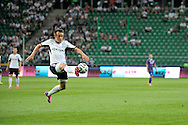 Legia's Miroslav Radovic controls the ball during Second qualifying round UEFA Champions League soccer match between Legia Warsaw and St. Patrick's Athletic at Pepsi Arena in Warsaw, Poland.<br /> <br /> Poland, Warsaw, July 16, 2014<br /> <br /> Picture also available in RAW (NEF) or TIFF format on special request.<br /> <br /> For editorial use only. Any commercial or promotional use requires permission.<br /> <br /> Mandatory credit:<br /> Photo by © Adam Nurkiewicz / Mediasport