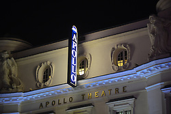 © Licensed to London News Pictures.19/11/2013. London, UK.Balcony Collapses at the Apollo Theatre in London.Photo credit : Peter Kollanyi/LNP