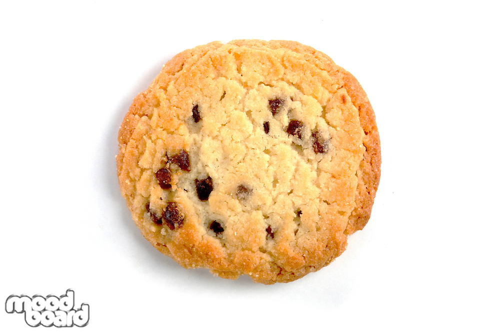 Cookies on white background- studio shot