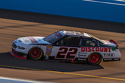 November 10, 2018 - PHOENIX, AZ - NOVEMBER 10: Austin Cindric, driver of the #22 Discount Tire Ford durnig the NASCAR Xfinity Whelen Trusted to Perform 200 at ISM Raceway on November 10, 2018 in Phoenix, Arizona. (Credit Image: © Doug James/ZUMA Wire)