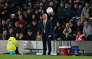 Hull City Manager Nigel Adkins during the EFL Sky Bet Championship match between Hull City and Leeds United at the KCOM Stadium, Kingston upon Hull, England on 2 October 2018.