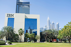 IBM office building at Dubai Internet City in United Arab Emirates UAE