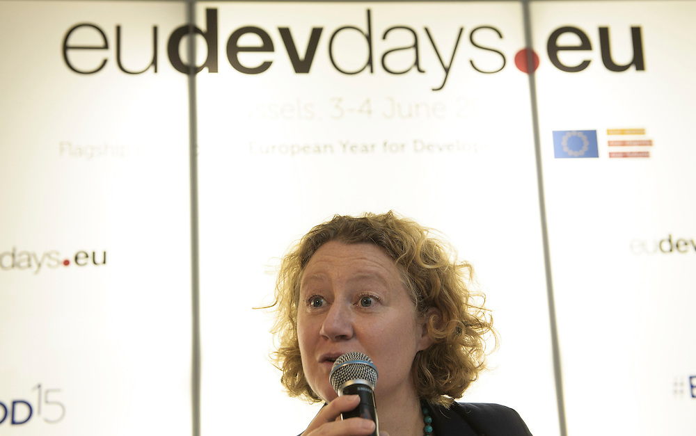 03 June 2015 - Belgium - Brussels - European Development Days - EDD - Trade - Empowering smallholders participation in global supply chains - Judith Sargentini , Member of EP © European Union