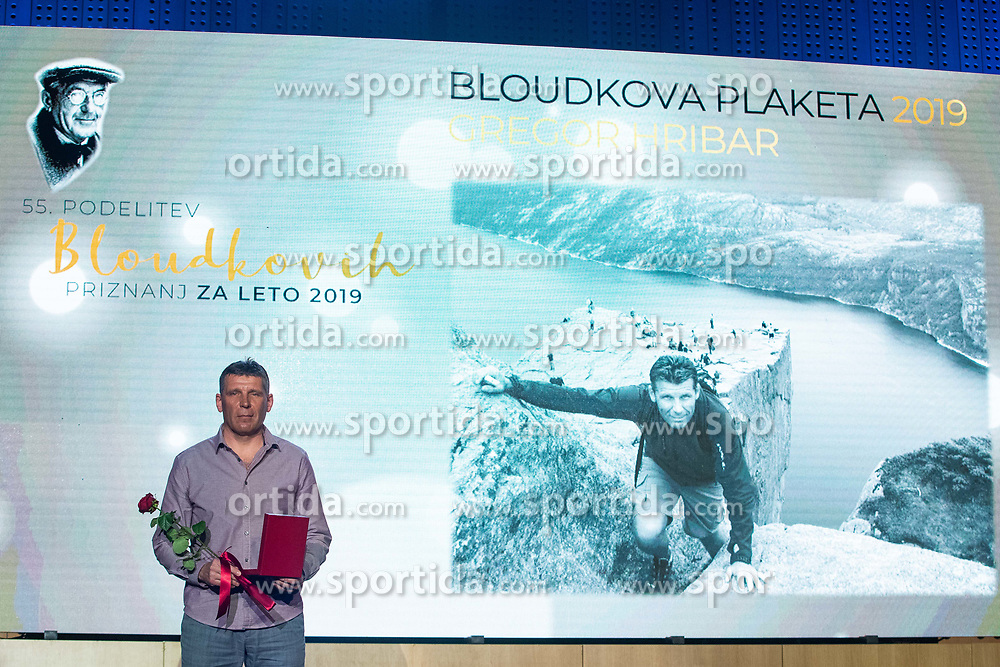 Gregor Hribar at 55th Annual Awards of Stanko Bloudek for sports achievements in Slovenia in year 2018 on February 4, 2020 in Brdo Congress Center, Kranj , Slovenia. Photo by Grega Valancic / Sportida