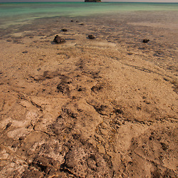 Paddy's Island from Turtle Island in the Blue Lagoon, Yasawa Islands, Fiji