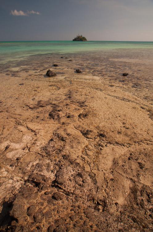 Paddy's Island from Turtle Island in the Blue Lagoon, Yasawa Islands, Fiji