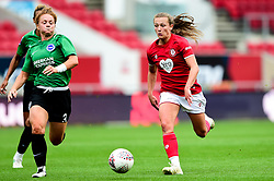 Charlie Wellings of Bristol City is marked by Felicity Gibbons of Brighton and Hove Albion Women  - Mandatory by-line: Ryan Hiscott/JMP - 07/09/2019 - FOOTBALL - Ashton Gate - Bristol, England - Bristol City Women v Brighton and Hove Albion Women - FA Women's Super League