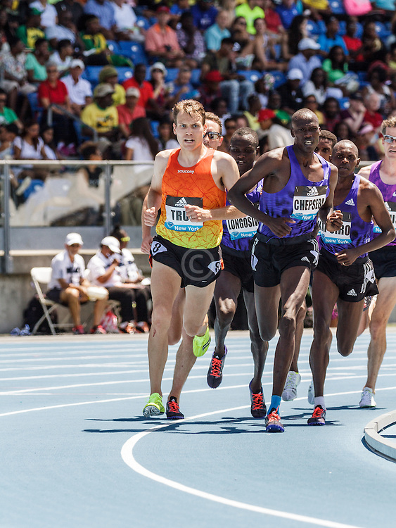 adidas Grand Prix Diamond League Track & Field: mens 5000m, Ben True, USA, Saucony