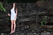 Model Kristina photoshoot at waterfall on Macaranga Estate. Images by Durban portrait and fashion / lifestyle photographer Paul Gregg. Fuji X-T1