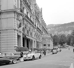 The Hotel de Paris, Monaco in February 1956.