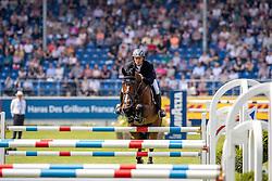 GREVE Willem (NED), Carambole<br /> Aachen - CHIO 2019<br /> Turkish Airlines-Preis von Europa<br /> Springprüfung mit Stechen <br /> 17. Juli 2019<br /> © www.sportfotos-lafrentz.de/Stefan Lafrentz