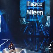 """NLD/Hilversum/20160129 - Finale The Voice of Holland 2016, Brace met zijn nieuwe song """"Alleen"""""""