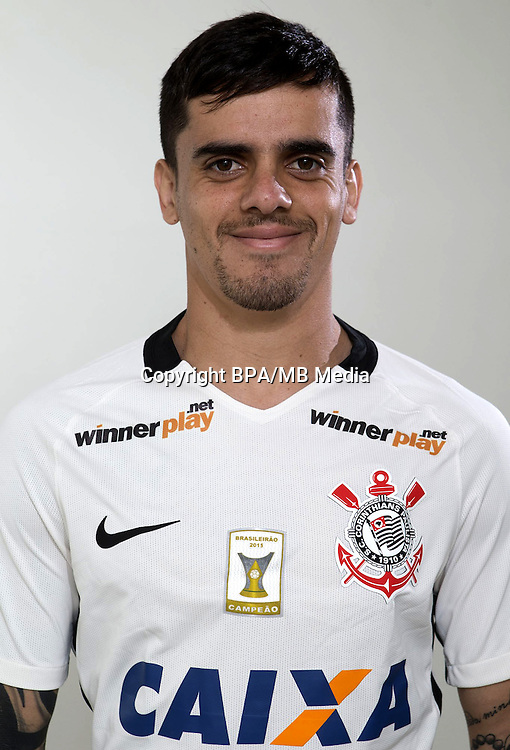 Brazilian Football League Serie A / <br /> ( Sport Club Corinthians Paulista ) - <br /> Fagner Conserva Lemos &quot; Fagner &quot;