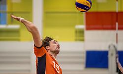 23-09-2016 NED: EK Kwalificatie Nederland - Oostenrijk, Koog aan de Zaan<br /> Nederland wint met 3-0 van Oostenrijk / Thomas Koelewijn #15