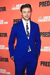 September 12, 2018 - Los Angeles, Kalifornien - Boyd Holbrook beim Special Screening des Kinofilms 'The Predator / Predator - Upgrade' im Egyptian Theatre. Los Angeles, 12.09.2018 (Credit Image: © Future-Image via ZUMA Press)