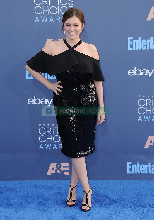 Rachel Bloom  bei der Verleihung der 22. Critics' Choice Awards in Los Angeles / 111216