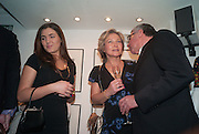 LUBA KOPYLENKO; IRENA DOCTORS; MARSHALL DOCTORS,  Ossie Clark: The King of The King's Road Reigns Again . Mixed exhibition of photographs of Ossie Clark inc pictures by Terry O Neill, Homer Sykes and Neil Libbert, Proud Chelsea, King's Rd. London. 20 February 2013.