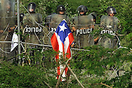 Puerto Rico Naval Training Range was located on the island of Vieques, just outside of the main island of Puerto Rico. The training range was used from 1941 until 2003. <br />