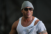 LL Cool J performs at the Big Dance Concert Series during Final Four weekend in Indianapolis, Indiana.