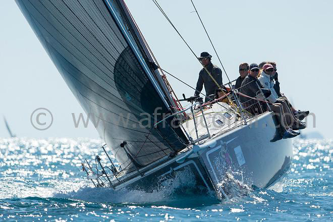 B52 sailing during the 2015 Airlie Beach Race week.<br />