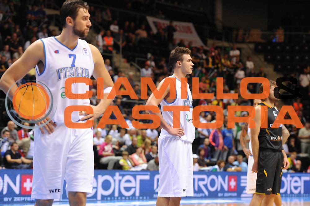 DESCRIZIONE : Siauliai Lithuania Lituania Eurobasket Men 2011 Preliminary Round Italia Germania Italy Germany<br /> GIOCATORE : Danilo Gallinari<br /> SQUADRA : Italia Italy<br /> EVENTO : Eurobasket Men 2011<br /> GARA : Italia Germania Italy Germany<br /> DATA : 01/09/2011 <br /> CATEGORIA : ritratto<br /> SPORT : Pallacanestro <br /> AUTORE : Agenzia Ciamillo-Castoria/G.Ciamillo<br /> Galleria : Eurobasket Men 2011 <br /> Fotonotizia : Siauliai Lithuania Lituania Eurobasket Men 2011 Preliminary Round Italia Germania Italy Germany<br /> Predefinita :