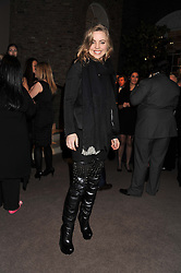 Actress MELISSA GEORGE at the Asprey BAFTA Party held at Asprey, 167 New Bond Street, London on 11th February 2012.