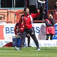 Dundee manager Paul Hartley - Dundee v Rangers, Ladbrokes Scottish Premiership at Dens Park<br /> <br />  - &copy; David Young - www.davidyoungphoto.co.uk - email: davidyoungphoto@gmail.com