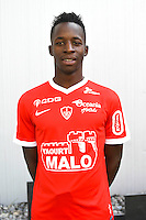 Zakaria Diallo of Brest during the Photo shooting of Stade Brestois in Brest on september 22th 2016<br /> Photo : Philippe Le Brech / Icon Sport