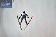 Poland, Wisla Malinka - 2017 November 18: Stefan Hula from Poland competes during FIS Ski Jumping World Cup Wisla 2017/2018 - Day 1 at jumping hill of Adam Malysz on November 18, 2017 in Wisla Malinka, Poland.<br /> <br /> Mandatory credit:<br /> Photo by © Adam Nurkiewicz<br /> <br /> Adam Nurkiewicz declares that he has no rights to the image of people at the photographs of his authorship.<br /> <br /> Picture also available in RAW (NEF) or TIFF format on special request.<br /> <br /> Any editorial, commercial or promotional use requires written permission from the author of image.
