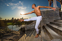 Dance As Art- the New York City Photography Project at Belvedere Castle, Central Park  with dancer Daniel White