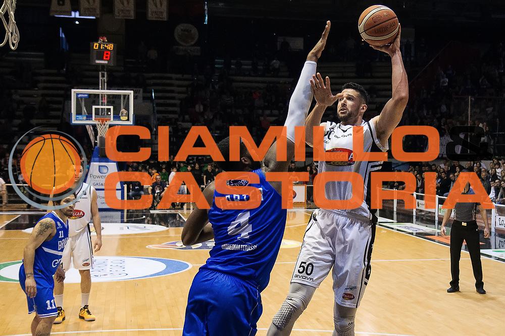 Mitchell Watt<br /> Pasta Reggia Caserta - Enel Brindisi<br /> Lega Basket Serie A 2016/2017<br /> Caserta 23/04/2017<br /> Foto Ciamillo-Castoria