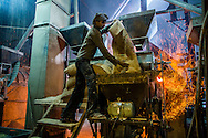 City: Ahemdabad, State: Gujarat , India, 19th February 2015:<br /> Gassifier Shoot - TERI - Puffed Rice Factory<br /> Photographer: SDC/2015/Prashanth Vishwanathan