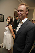 LAUREN AND GARY KEMP, Photos by Robert Mapplethorpe: Still Moving & Lady, Alison Jacques Gallery, 4 Clifford Street, London, W1, Dinner afterwards at the  The Dorchester with performance by Patti Smith, 7 September 2006.  ONE TIME USE ONLY - DO NOT ARCHIVE  © Copyright Photograph by Dafydd Jones 66 Stockwell Park Rd. London SW9 0DA Tel 020 7733 0108 www.dafjones.com