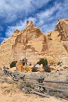 Sandstone buttes San Rafael Swell Utah